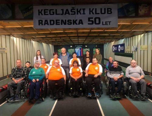 Skupaj s Kegljaškim klubom Radenska praznovali 50-letnico