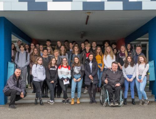 Ozaveščanje dijakov Gimnazije Murska Sobota o varni vožnji