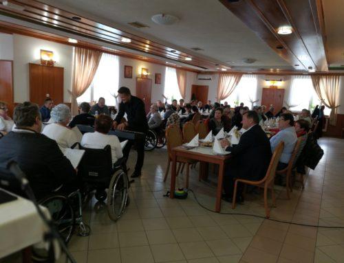 Društvo paraplegikov Prekmurja in Prlekije uspešno izvedlo 40. Zbor članov
