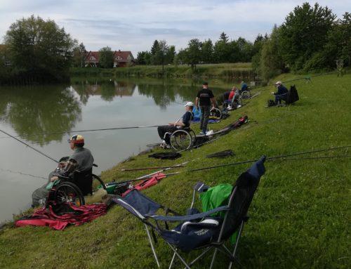 Na rogozniškem ribniku na Ptuju potekalo 2. kolo lige ZPS v lovu rib s plovcem