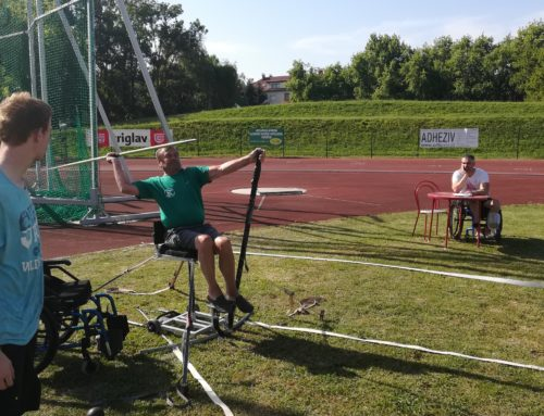 Na 3. kolu v atletiki Marta Janežič ponovno najboljša v metanju krogle