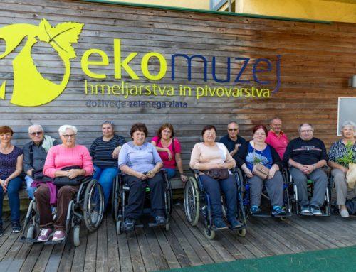 Srečanje članic Aktiva žena s članicami Društva paraplegikov jugozahodne Štajerske