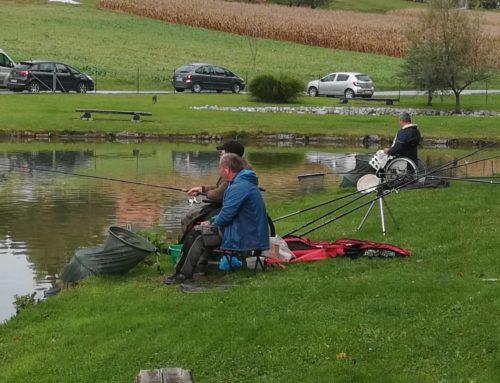 V Smolincih potekalo 3. kolo društvene lige DPPP v športnem ribolovu