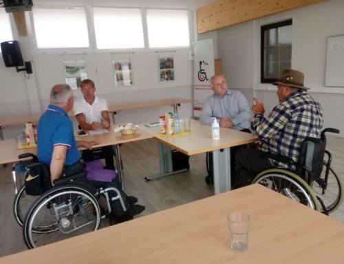 Sestanek sekcije čebelarjev pri Zvezi paraplegikov Slovenije