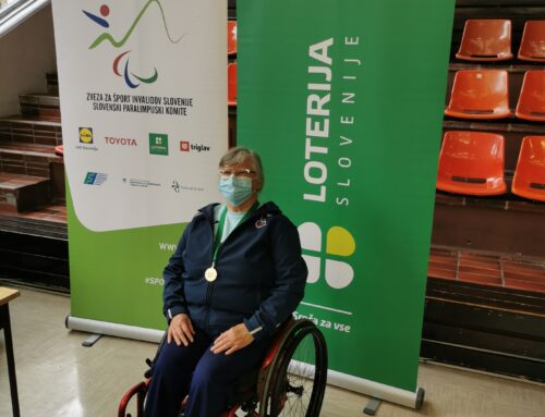 Marta Janežič v razredu tetrapleginj osvojila naslov državne prvakinje