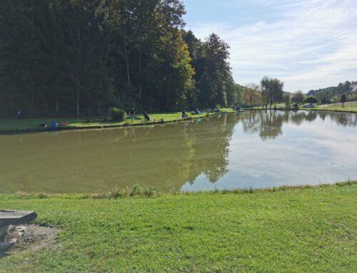 V Smolincih ribiči zaključili društveno ribolovno sezono