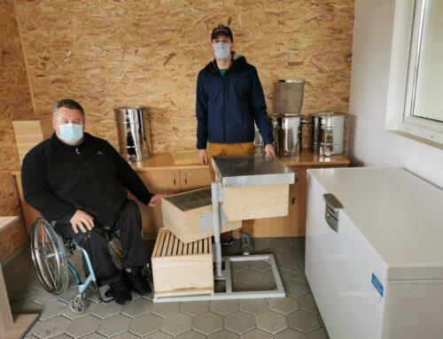 Nova pridobitev v učnem čebelnjaku