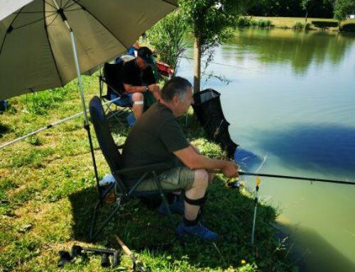 Na Ptuju, na Ribniku Rogoznica II je potekalo 3. kolo lige ZPS v lovu rib s plovcem