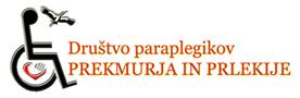 Društvo paraplegikov Prekmurja in Prlekije Logo